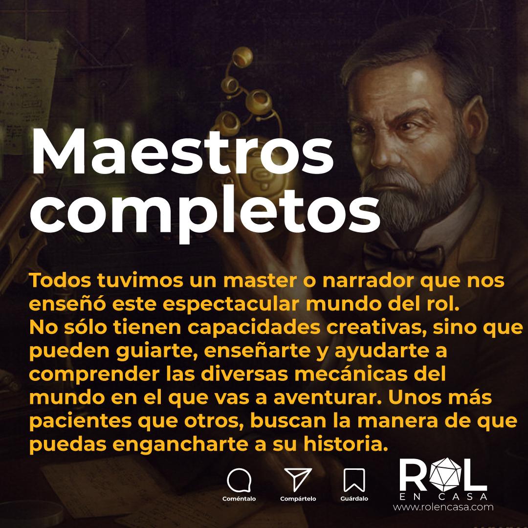 Día del Dungeon Master #RolEnCasa